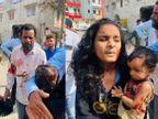 खंडवा रोड पर रहवासी क्षेत्र में हड़कंप, एक ही परिवार के तीन सहित चार लोग घायल, 23 घंटे बाद ट्रैंक्युलाइज कर पकड़ा|इंदौर,Indore - Dainik Bhaskar