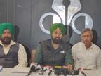 पंजाब रोड संघर्ष कमेटी ने कहा- मुआवजा बढ़ाए और बेरोजगार हुए किसानों के लिए सरकारी नौकरी दे सरकार चंडीगढ़,Chandigarh - Dainik Bhaskar