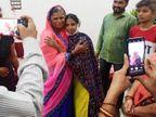 5 साल बाद महाराष्ट्र में मां से मिली, परिवार ने असली नाम राधा वाघमारे बताया, DNA टेस्ट के बाद सौंपी जाएगी|इंदौर,Indore - Dainik Bhaskar
