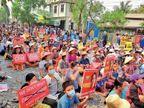 म्यांमार से भागकर भारत आए पुलिस अफसर बोले- जवानों से कहा गया कि तब तक गाेलियां दागो जब तक प्रदर्शनकारी की मौत न हो जाए|विदेश,International - Dainik Bhaskar