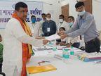 शुभेंदु अधिकारी ने नंदीग्राम से नामांकन दाखिल किया, 14 मार्च को घोषणा पत्र जारी करेगी TMC|देश,National - Dainik Bhaskar