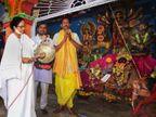 मंच से ममता बनर्जी के चंडी पाठ के पीछे सिर्फ हिंदूवादी राजनीति या फिर तंत्रमंत्र का 'खेला'?|देश,National - Dainik Bhaskar