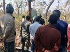 जंगल में पेड़ पर बने फंदेसे लटकी मिली लड़की की लाश, जीजा के घर जाने की बात कह निकली थी|झारखंड,Jharkhand - Dainik Bhaskar