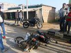 रांची में तेज रफ्तार ट्रक ने बाइक सवार अधेड़ को कुचला, बाइक को 2KM दूर तक घसीटता ले गया|रांची,Ranchi - Dainik Bhaskar