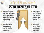 सोना फिर से पहुंच सकता है 50 हजार रु. के पार, अभी खरीदना रहेगा फायदेमंद|बिजनेस,Business - Money Bhaskar