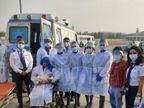 बेंगलुरु से जयपुर आ रहे विमान में महिला को हुआ लेबर पेन, विमान में मौजूद डॉक्टर ने क्रू मेंबर्स की मदद से कराई डिलीवरी|राजस्थान,Rajasthan - Dainik Bhaskar