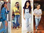 सोशल मीडिया पर लड़कियां रिप्ड जींस में पोस्ट कर रहीं अपनी फोटो, उत्तराखंड के मुख्यमंत्री तीरथ सिंह द्वारा इस जींस की आलोचना के बाद चला ये ट्रेंड|लाइफस्टाइल,Lifestyle - Dainik Bhaskar