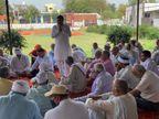 चौटाला किसान हितैषी होने का दावा कर चुनाव जीते, अब जब हमें उनकी जरूरत है तो वे भाजपा सरकार की गोद में बैठे हैं फरीदाबाद,Faridabad - Dainik Bhaskar