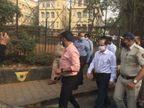 NIA ने सचिन वझे के घर से कई दस्तावेज जब्त किए, क्राइम सीन रिक्रिएट किया; मुंबई पुलिस के 2 और अफसरों तक पहुंच सकती है जांच की आंच|महाराष्ट्र,Maharashtra - Dainik Bhaskar