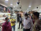 रांची में बढ़ते मामले के बीच बाजार पहुंचे DC, व्यापारियों से कहा- कोरोना से लड़ने के लिए 'SMS' का इस्तेमाल करते रहिए|रांची,Ranchi - Dainik Bhaskar