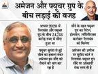 दिल्ली हाईकोर्ट ने फ्यूचर रिटेल-रिलायंस सौदे पर अस्थायी रोक लगाई, फ्यूचर ग्रुप पर 20 लाख रु. का जुर्माना भी लगाया|बिजनेस,Business - Dainik Bhaskar