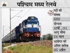 पश्चिम मध्य रेलवे ने ट्रेड अप्रेंटिस के 680 पदों पर निकाली भर्ती, 5 अप्रैल तक अप्लाई कर सकते हैं 10वीं पास कैंडिडेट्स|करिअर,Career - Dainik Bhaskar