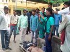 बेगूसराय में NH 28 पर हादसा, बंगाल के एक युवक की मौत; दूसरे की हालत गंभीर बेगूसराय,Begusarai - Dainik Bhaskar