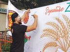 जालंधर में युवाओं ने शुरू किया हस्ताक्षर अभियान, किसानों के हक में जुटने की अपील|जालंधर,Jalandhar - Dainik Bhaskar