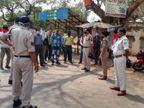 सड़कों पर उतरी पुलिस, नशा नहीं करने और मास्क लगाने की अपील, कोविड 19 से जागरूक रहने की दे रहे सलाह|रीवा,Rewa - Dainik Bhaskar