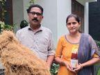 इकोनॉमिक्स से ग्रेजुएशन करने के बाद खस की खेती शुरू की, अब इसकी प्रोसेसिंग से सालाना 10 लाख रुपए कमा रहे|DB ओरिजिनल,DB Original - Dainik Bhaskar