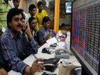 सेंसेक्स 87 पॉइंट गिरकर 49770 पर बंद; निफ्टी भी 14700 के स्तर पर, रिलांयसऔर SBI के शेयर 1-1% फिसले|बिजनेस,Business - Money Bhaskar