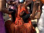 12 में से 5 महिलाएं परिवार में अकेली कमाने वाली थीं; दो महीने बाद उषा की बेटी की होनी थी शादी, डोली से पहले मां की अर्थी उठी|ग्वालियर,Gwalior - Dainik Bhaskar