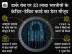 सरकार ने माना 13 लाख भारतीयों का डेटा डार्क वेब पर मौजूद, साइबर क्राइम से बचाने टूल भी जारी किए|टेक & ऑटो,Tech & Auto - Money Bhaskar