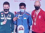 भोपाल के 2 शूटर्स ऐश्वर्य प्रताप और चिंकी यादव ने गोल्ड जीता; वुमन्स 25 मीटर पिस्टल इवेंट में भारत का क्लीन स्वीप स्पोर्ट्स,Sports - Dainik Bhaskar