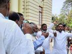 पक्ष और विपक्ष के सदस्यों के बीच हाथापाई की नौबत, जिस बिल को लेकर मचा बवाल, परिषद से भी हुआ पास बिहार,Bihar - Dainik Bhaskar