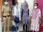 सिमडेगा की नाबालिग को ले जा रहे थे गुरुग्राम, RPF की टीम ने रांची रेलवे स्टेशन पर पकड़कर चाइल्ड लाइन को सौंपा|रांची,Ranchi - Dainik Bhaskar
