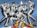 मजदूरी के पैसे मांगे तो नशे में ठेकेदार ने मजदूर को बेरहमी से पीटा, शराब पी रहे 5 दोस्तों ने भी किए हाथ साफ जालंधर,Jalandhar - Dainik Bhaskar