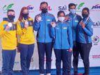 संजीव राजपूत और तेजस्विनी सावंत ने 50 मीटर राइफल थ्री पोजिशन मिक्स्ड इवेंट में गोल्ड जीता, ऐश्वर्य और सुनिधि को ब्रॉन्ज|स्पोर्ट्स,Sports - Dainik Bhaskar
