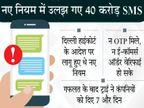 बेवजह के SMS रोकने के लिए बैंकों ने नहीं उठाए जरूरी कदम, ट्राई ने जारी की 40 बैंकों की लिस्ट|बिजनेस,Business - Dainik Bhaskar
