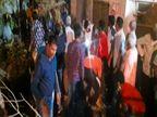 उदयपुर में शरारती युवकों ने समय से पहले जलाई होली, ग्रामीणों ने पानी डाल बुझाई आग, फिर से रोपी नई होली|उदयपुर,Udaipur - Dainik Bhaskar