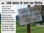 सरगुजा में खनन के लिये कलेक्टर ने ग्राम सभा की सहमति का प्रमाणपत्र लगाया है, अब सरपंचों ने कहा- ऐसी कोई ग्रामसभा कभी हुई ही नहीं|रायपुर,Raipur - Dainik Bhaskar