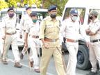 मेरी होली, मेरा घर का संदेश के साथ पुलिस का निकला फ्लैग मार्च, 3 दिन तक 24 घंटे पुलिस रहेगी ड्यूटी पर तैनात|दतिया,Datiya - Dainik Bhaskar