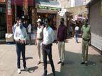 19 पॉजिटिव आने के बाद 9 अप्रैल तक प्रशासन ने लगाई पाबंदी, घरों में कैद होने को मजबूर हुए लोग|सीकर,Sikar - Dainik Bhaskar