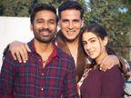 एक साल बाद 'अतरंगी रे' की शूटिंग हुई पूरी, सारा अली खान ने सेट से अनसीन फोटोज शेयर कर अक्षय कुमार, धनुष और डायरेक्टर के लिए लिखा स्पेशल नोट|बॉलीवुड,Bollywood - Dainik Bhaskar