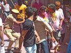कपड़ा फाड़ या सतरंगी होली का नहीं हुआ आयोजन, बाहर से पहुंचे युवाओं की भीड़ को पुलिस ने खदेड़ा; मायूस हुए युवा|अजमेर,Ajmer - Dainik Bhaskar