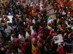 राजस्थान से लेकर मध्य प्रदेश तक लोगों ने मनाया रंगों का त्योहार; कहीं सोशल डिस्टेंसिंग भूले तो कहीं सड़कें रहीं सूनी|मध्य प्रदेश,Madhya Pradesh - Dainik Bhaskar