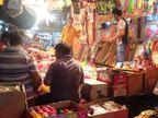 अलवर के बाजार में 100 प्रतिशत मेड इन इंडिया पिचकारी, दो साल पहले 70 प्रतिशत से ज्यादा बाजार चीन का था|अलवर,Alwar - Dainik Bhaskar
