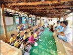 अशिक्षा और कुपोषण से जूझते 25 हजार बच्चों को शिक्षा, भोजन और जीने का सलीका सिखा रहा IIM ग्रेजुएट का परिवार इंदौर,Indore - Dainik Bhaskar