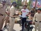 30 मोबाइल पार्टियों पर हुड़दंग रोकने की जिम्मेदारी, चप्पे-चप्पे पर पुलिस की नजर, बाइकर्स की निकाली हवा|रीवा,Rewa - Dainik Bhaskar