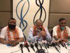 BJP विधायक नारंग ने कांग्रेस के पंजाब प्रधान जाखड़ को हराया था, इसलिए सरकारी साजिश रच उन्हें पीटा गया : पूर्व मंत्री मित्तल|जालंधर,Jalandhar - Dainik Bhaskar