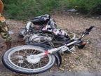 बठिंडा में घर लौट रहे रिफाइनरी के कर्मचारियों की दो बाइक बस से टकराई, 3 घायल|पंजाब,Punjab - Dainik Bhaskar