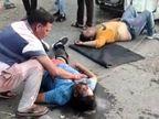 करनाल में अज्ञात वाहन से टकराकर पलटी तेज गति से दौड़ रही कार; दो की मौत, 3 घायल|हरियाणा,Haryana - Dainik Bhaskar