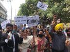 प्राइवेट स्कूलों के खिलाफ जालंधर में सड़क पर उतरे पेरेंट्स, बोले- अवैध फंड के लिए रिजल्ट रोक कर रहे ब्लैकमेल|जालंधर,Jalandhar - Dainik Bhaskar