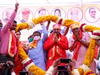 कटारिया बोले कुछ वक्त की मेहमान कांग्रेस, वही शेखावत ने कहा - बेटे की हार के बाद जोधपुर नहीं आते गहलोत|उदयपुर,Udaipur - Dainik Bhaskar