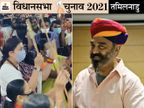 उत्तर भारतीयों को रिझाने की कवायद शुरू, कोई पगड़ी पहन रहा तो कोई कर रहा डांडिया; जैन मंदिरों के चक्कर भी लगा रहे प्रत्याशी|तमिलनाडु,Tamil Nadu - Dainik Bhaskar