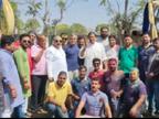पूर्व विधायक ध्रुव नारायण सिंह पर मुख्यमंत्री के मेरी होली, मेरे घर की अपील की धज्जियां उड़ाने का आरोप, सिंह की सफाई- नगर निगम एरिया के बाहर का वीडियो हैं|भोपाल,Bhopal - Dainik Bhaskar
