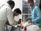 धुलंडी की शाम को दो परिवारों के आपसी झगड़े में फायरिंग; 65 साल की महिला की मौत, 6 जने अस्पताल में भर्ती|अलवर,Alwar - Dainik Bhaskar