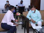 मंत्री तोमर की दो टूक ऑनलाइन बिजली बिलों के भुगतान की प्रक्रिया सरल बनाओ, बड़े बकायादारों को चिन्हित कर वसूली करो|जबलपुर,Jabalpur - Dainik Bhaskar