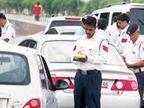 होली पर 3282 लोगाें के ट्रैफिक पुलिस ने किए चालान, शराब पीकर वाहन चलाने वाले 100 लोगों पर हुई कार्रवाई|दिल्ली + एनसीआर,Delhi + NCR - Dainik Bhaskar