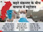 छत्तीसगढ़ में कोरोना वायरस का नया वैरिएंट मिला; डॉक्टरों ने कहा- शरीर पर कैसा असर करेगा, अभी पता नहीं|रायपुर,Raipur - Dainik Bhaskar